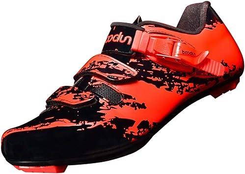 perfeclan Zapatillas de Bicicleta de Carretera/Calzado con Suela ...