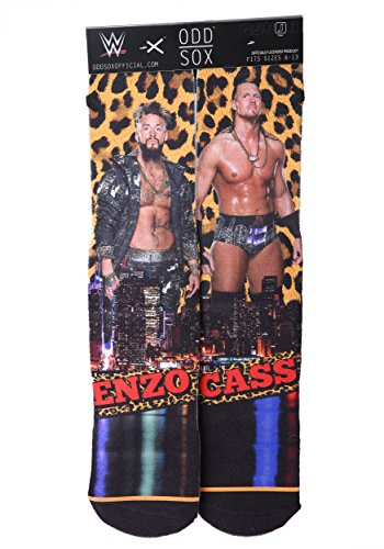 odd-sox-mens-wwe-enzo-and-cass-socks-multi-color-black