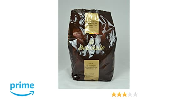 Belcolade 1 kg de leche 43,5 % de chocolate Venezuela: Amazon.es: Alimentación y bebidas