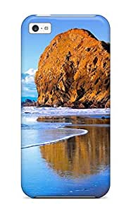 Awesome Scenery Flip Case With Fashion Design For iphone 4s