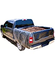 """Portable Truck Bed Liner FS66 Heavy Duty, Adjustable Truck tarp to Protect Your Full Size Truck Bed (Full Size Truck - Bed Length (Small) 63"""" - 71"""")"""