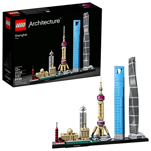 LEGO Architecture Shanghai 21039 Building Kit (597 -