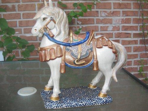 - Burner Incense Horse with saddle, Chinese early glazed ceramics, Ming Dynasty(?)