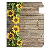 Wamika Beautiful Sunflowers Mailbox Cover Vintage