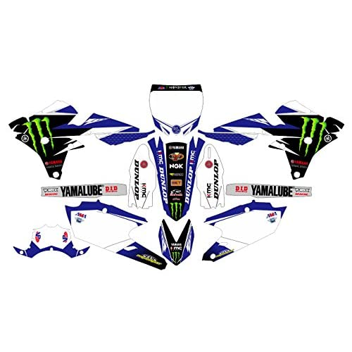 outlet AM 247 YAMAHA YZ250F YZ450F 2014 2015 2016 14-16 DECALS