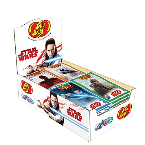 Jelly Belly Star Wars The Last Jedi Jelly Beans, Assorted Designs, 1-oz, 24 Pack ()