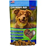 Cheap Dog Calming Aid – Treats – Melatonin, L Tryptophan, Chamomile Flower, Passion Flower and Thiamine Mononitrate – 65 Soft Chews
