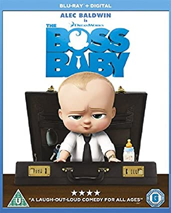 1d166b5514183 The Boss Baby  Blu-ray   2017   Amazon.co.uk  Tom McGrath