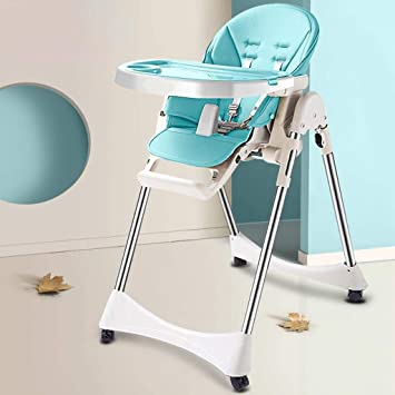 Magnificent Amazon Com Folding High Chair Baby Adjustable Portable Lamtechconsult Wood Chair Design Ideas Lamtechconsultcom