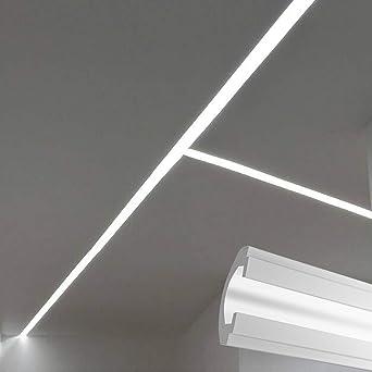 El112 Coupe De Lumière Indirecte Led à Plafond Encastrable
