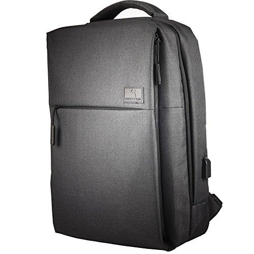 Laptop Backpack Business Laptop Backpack with Usb Port,Built-in Frame Design Protected 15.6'' Laptop Bag for Woman Man(DG)
