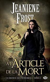 Book's Cover ofLe prince des ténèbres tome 2 : A l'article de la mort