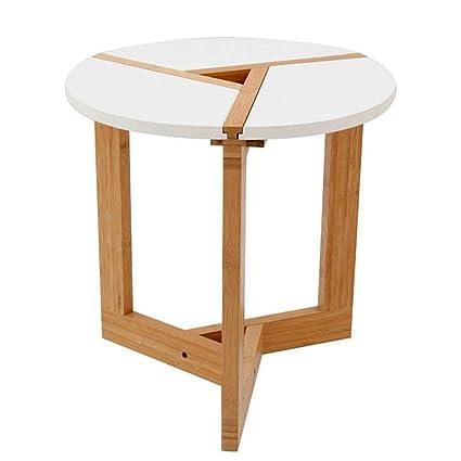 Pleasing Amazon Com End Tables Table Round Coffee Table Bamboo Interior Design Ideas Tzicisoteloinfo