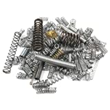 Forney 72599 Extension and Compression Spring Mixed Assortment, 100-Pieces
