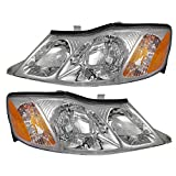2001 avalon headlight assembly - Driver and Passenger Headlights Headlamps Replacement for Toyota 81150-AC040 81110-AC040