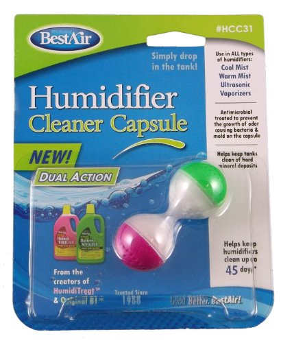 RPS UFHCC31 Dual Action Humidifier Cleaner Capsule (Filter Action)