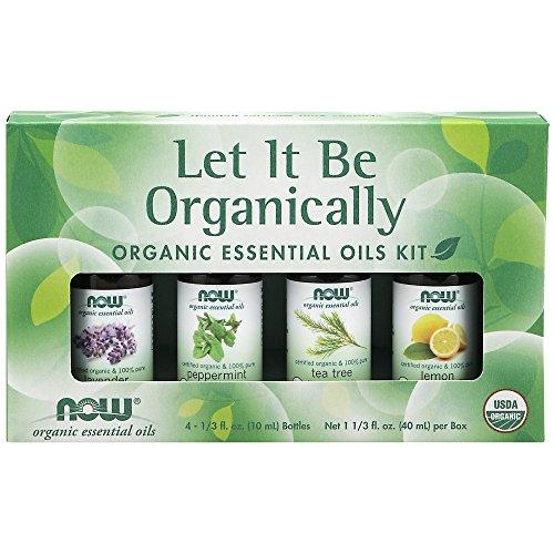 Now Organic Essential Oil, Organically Sample Kit, Lavender/
