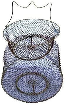 Drahtsetzkescher Setzkescher Draht mit Griff Aal Hering 60 x 40 cm Zite Fishing