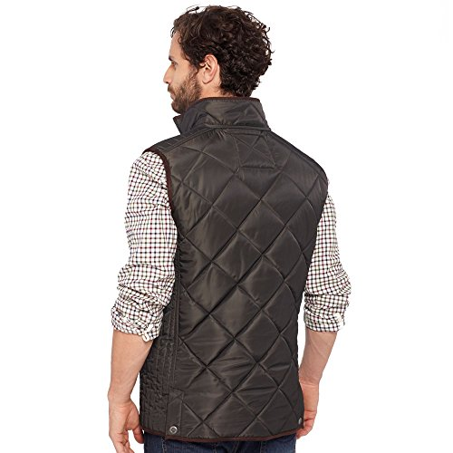 Joules Quilted Lined Micro Navy Mens Bodywarmer Gilet Fleece Marine Grove rwxPrTq