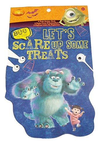 Squishy Frankenstein (Disney Shaped Sticker Book ~ Halloween Edition (Monster's Inc./University - Let's Scare Up Some Treats; 190 Stickers))