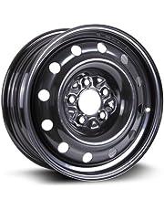 RTX, Steel Rim, New Aftermarket Wheel, 16X6.5, 5X114.3, 71.5, 40, black finish X99128N