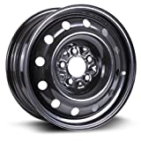 town and country spare tire - Steel Rim 16X6.5, 5X114.3, 71.5, 40, black finish (Please Read Entire Listing) X99128N