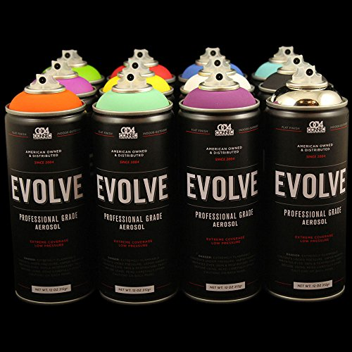 Evolve 12 pack, MTN, Montana, Belton & Molotow, Ironlak, Kri