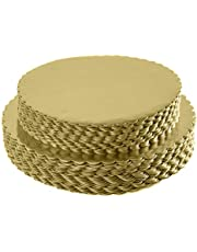 Round Coated Circle Cakeboard Base10inch-12inch 25pack