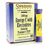 Swanson 1Vitamin 000 Milligrams Energy Vitamin C with Electrolytes 30-0.16 Ounce (4.6 g) Packets