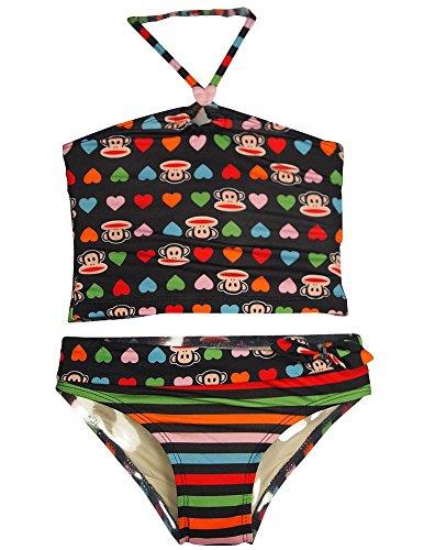 paul-frank-little-girls-2-piece-tankini-swimsuit-black-multi-32236-2t