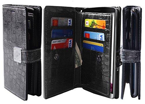 shine-grey-g3-dual-wallet-6-card-slot3-bill-slot-wristlet-pu-leather-tpu-bumper-clutch-case-drop-pro