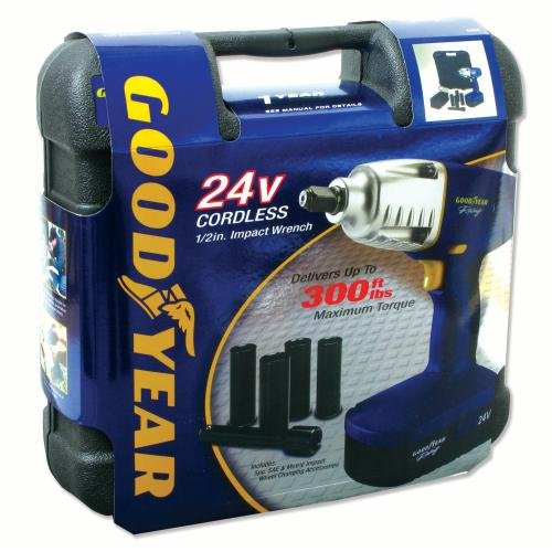 Goodyear 24V Cordless Impact Wrench (33609PB)