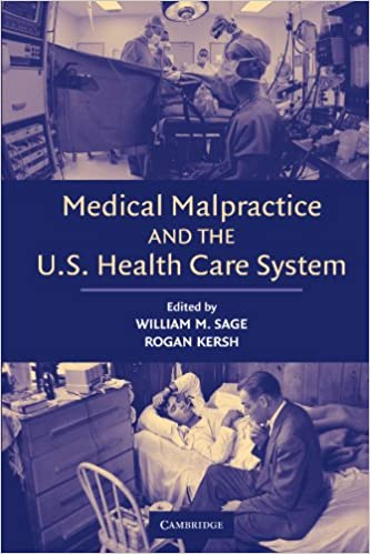 Health Care System Medical Malpractice and the U.S
