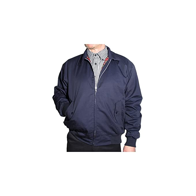 Relco - Chaqueta Harrington Azul Marino: Amazon.es: Ropa y ...