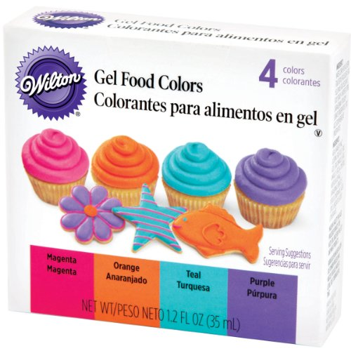 Wilton Gel Food Color Set, Neon