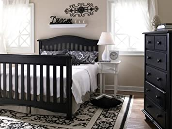Amazon.com : LaJobi Universal Lifestyle Bed Rail, Licorice ...