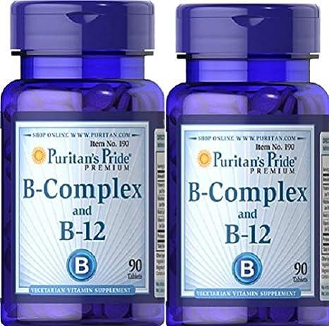 2 VITAMINA B12 Y B COMPLEX 90 COMPRIMIDOS (MEMORIA Y STRESS)