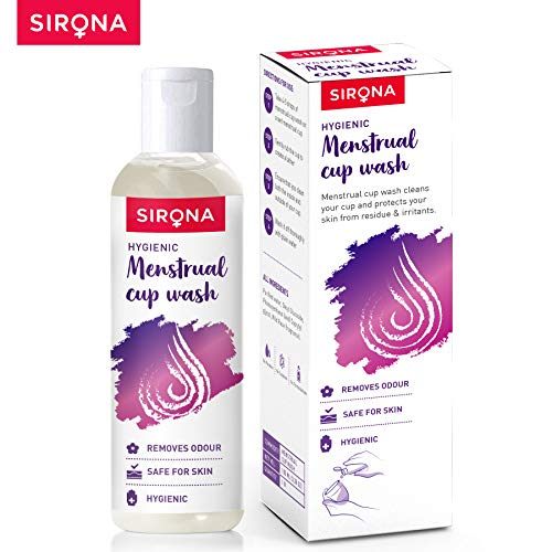 Sirona-Menstrual-Cup-Wash-100-ml-with-Rose-Fragrance-to-Wash-your-Period-Cup-in-a-Hygienic-Way