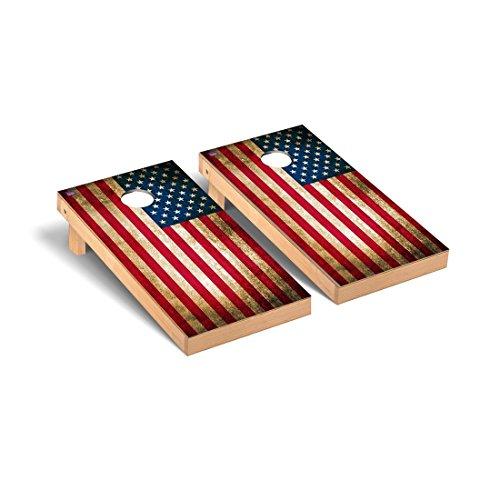 US Vintage Flag Regulation Cornhole Game Set