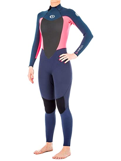 Rip Curl 2018 Ladies Omega 4 3mm Back Zip Wetsuit Neon Pink WSM4CW Womens  Wetsuits 40292cbae
