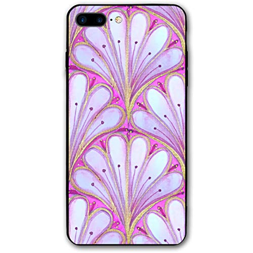 Watercolor Cloves and Magenta iPhone 7 8 Plus 7plus 8plus Phone Case Cover Theme Decorative Mobile Accessories Ultra Thin Lightweight Shell Pattern Printed Ornament Decorations