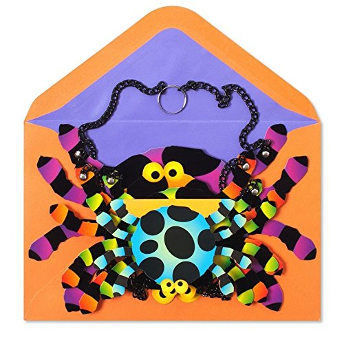 Halloween Card Decorative Spider Mobile by Papyrus