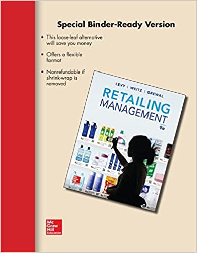 Amazon loose leaf retailing management with connect access card loose leaf retailing management with connect access card 9th edition fandeluxe Images