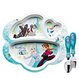 Best Zak Designs Friends Plates - Zak Designs 3 Section Plate, Spoon and Fork Review