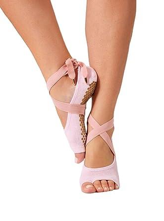 Amazon.com: Miel de la suerte la Toeless calcetines de ...