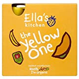 Ella's Kitchen the Yellow One Organic Squished Smoothie Fruits (5x90g) - Pack of 2