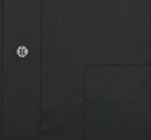 ETERNA hommes Modern Fit Chemise de manches longues noir