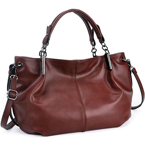 Designer Handbags for Women,Classic Vegan Leather Top-handle Purses and Handbags,YAAMUU Tote Bag for Work School