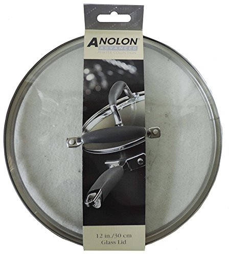 ANOLON ADVANCED PEWTER COLLECTION GLASS LID 12