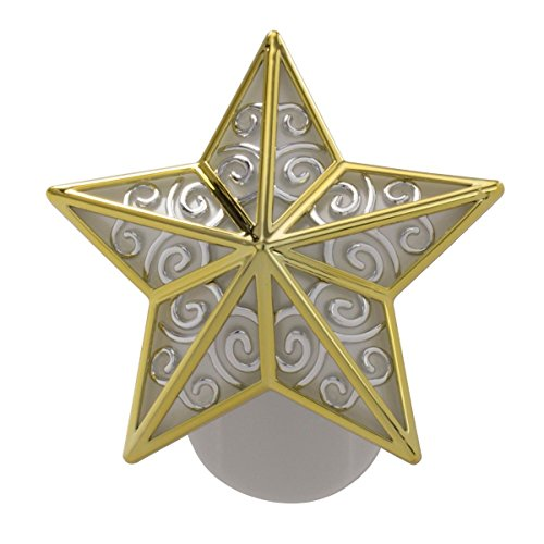 Silver Star Plug (Yankee Candle Gold And Silver Star - Night Light Scent-Plug Base)